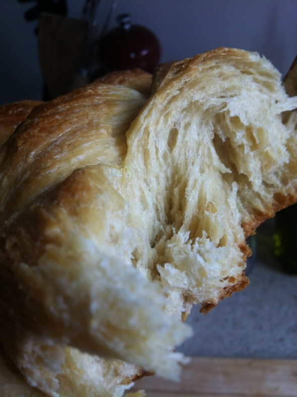 Semifreddi's style challah - not quite, but oh so close!