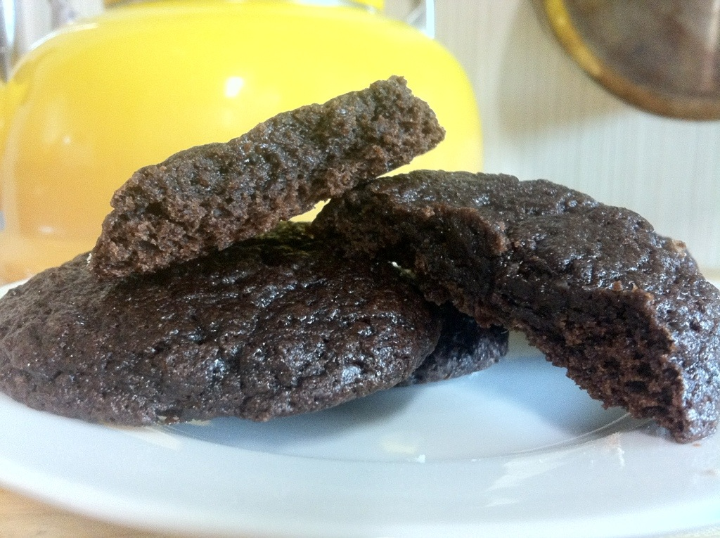 Fudgy brownie cookies - made with Korean Q1 Margarine